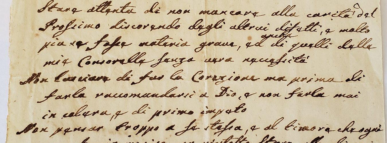 E.Renzi Proponimenti 1853