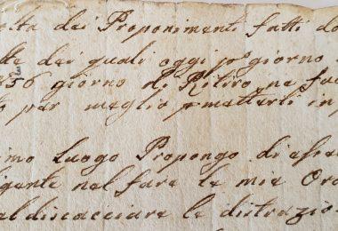 E.Renzi proponimenti 1836