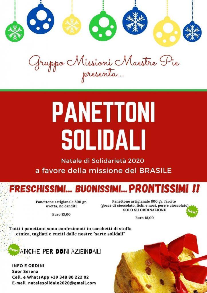 Panettoni solidali