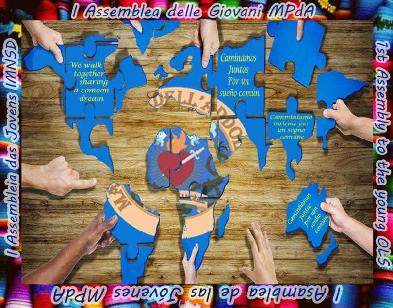 Logo I ASSEMBLEA DELLE GIOVANI MPDA