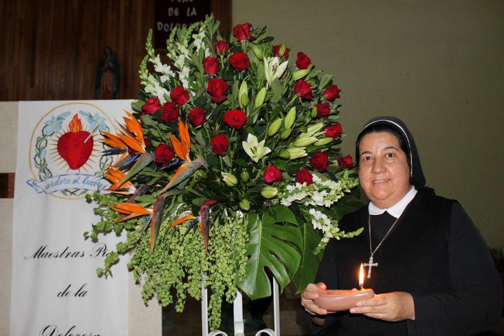 Profesión Perpetua de Sor María Eugenia Herrera Pérez